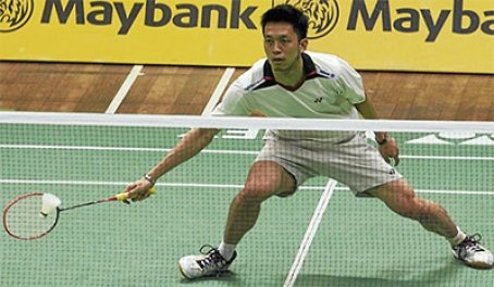 Misbun Ramdan Mohamed Misbun beat Goh Giap Chin 21-11, 21-15 in the first round of the Kuala Lumpur Open yesterday.