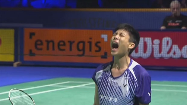 Chou Tien Chen beats Tian Houwei to reach Bitburger Open final