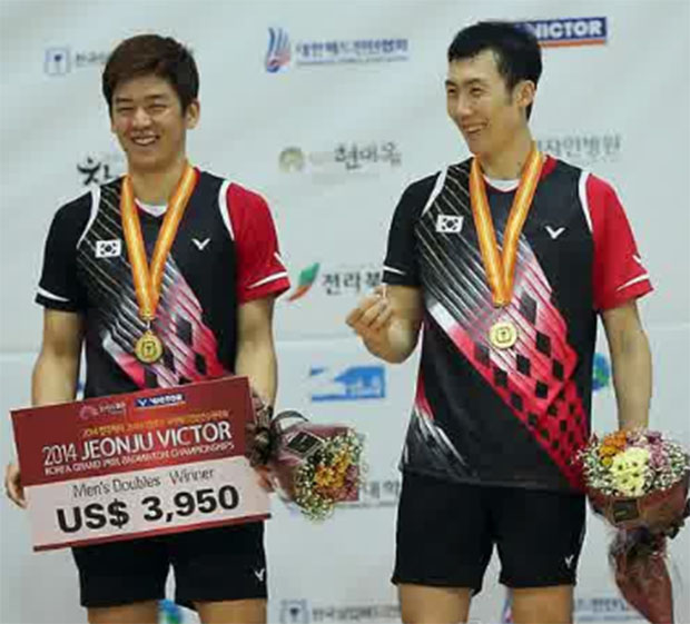 Korean Open: Lee Yong Dae-Yoo Yeon Seong serves up sweet revenge