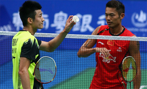 Lin Dan, Chen Long kick off 2014 China Badminton Open