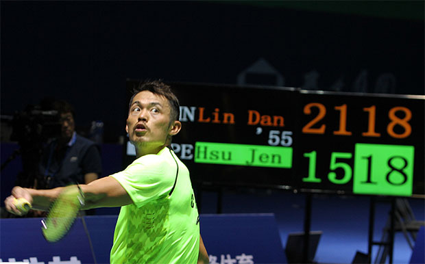 Lin Dan is eyeing for another title at China Open