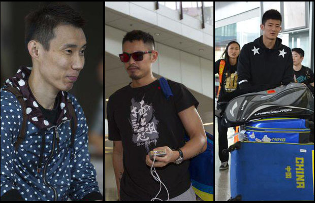 Lee Chong Wei, Lin Dan and Chen Long in same half of Hong Kong Open