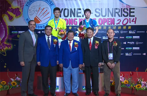 Son Wan-ho overtakes no. 1 Chen Long with Hong Kong triumph