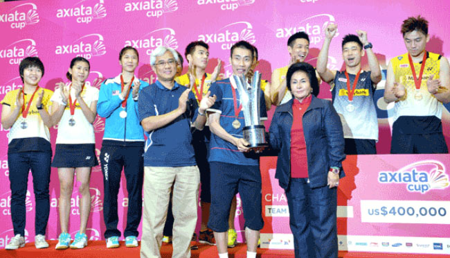Malaysia hope for good turnout in Axiata Cup without Lee Chong Wei