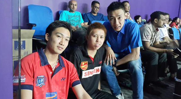 Lee Chong Wei to face Kento Momota in Purple League
