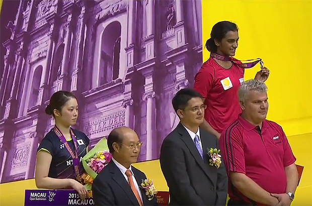 P.V. Sindhu beats Minatsu Mitani to win Macau Open title