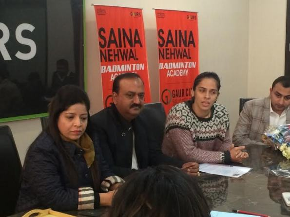 Saina Nehwal launches her own badminton academy