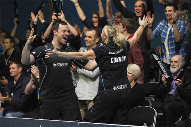 Surrey Smashers on top of National Badminton League