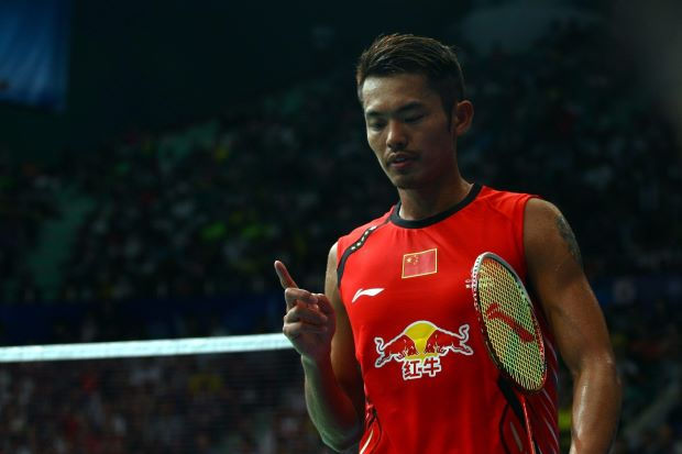 Lin Dan was given a wild card to take part in last year's World Championships, which he went on to win after beating Lee Chong Wei.