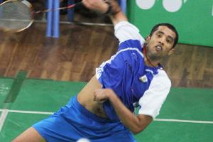 Arvind Bhat defeated Daren Liew from Malaysia