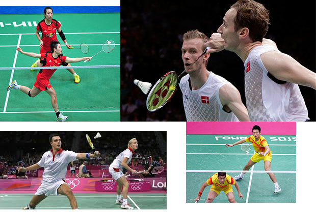 Rules for Badminton Men's Doubles, Women's Doubles, and Mixed Doubles