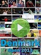 2013 Denmark Open - Badminton Videos