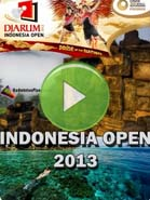 2013 Indonesia Open - Badminton Videos