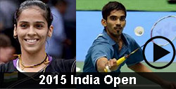 2015 India Open Badminton Videos