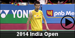 2014 India Open Badminton Videos